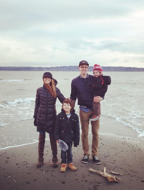 Joe and family
